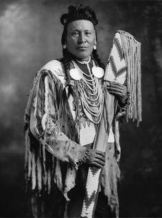 Chief Moon, Blackfoot, 1925.