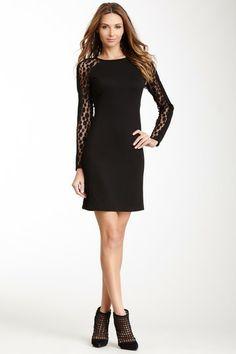 Julia Jordan Long Sleeve Shift Dress by Non Specific on @HauteLook