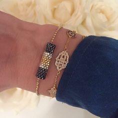 Charm'ed bracelets by Charm'ed Copenhagen - www.charmedcopenhagen.com - #charmed #bracelet #danishdesign #eye #jewellery #armbånd #smykker #fatimashand #handmade #pearls #charmed_cph #rikkehandrecknovod