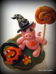 polymer clay ~ Halloween treats