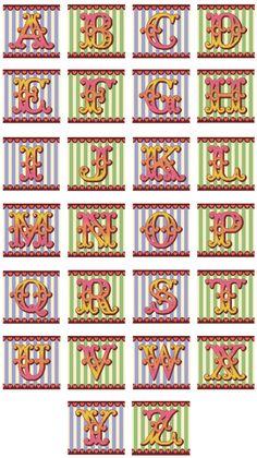 Emily Peacock circus font