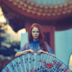 spring by *oprisco on deviantART #emotive # fashion #portrait