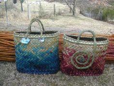 Creative Queenstown Arts and Crafts Market Flax Weaving, Basket Weaving, Woven Baskets, Sisal, New Zealand Flax, Flax Flowers, Maori Designs, Maori Art, Kiwiana