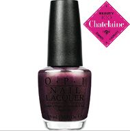 Chatelaine Beauty 100 - Best nail polish colours: OPI Nail Polish in Muir Muir on the Wall, $11 #Chatelaine #Beauty100 #ChatBeauty #OPI
