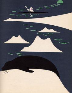 Sleepy Book, illustrated by Bobri 1958