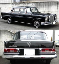 1964 Mercedes-Benz 220s SedanMy dad had one of these :D