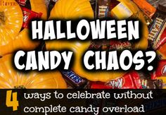 Want to beat the Halloween candy chaos this year? (Meaning avoid having a leftover bowl until Thanksgiving.) Then these 4 tips are exactly what you need to steer clear of candy overload.