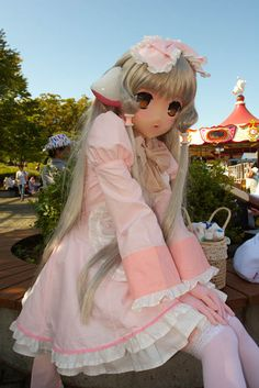 Celebrity Chobits Cosplay Nude Pic