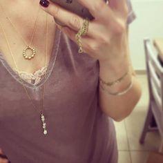 Boho necklace, Gold necklace, Layered necklace, Gold filled necklace, Dainty gold necklace, Boho gold necklace, Minimalist gold necklace