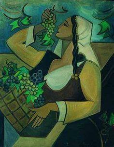 Maide Arel (1907 – 1997)  Türkiye'de kadın sanatçılar arasında kübizmden hareket eden ve geometrik soyutlama getiren bir öncüdür. Kübist üslupta figürü kendi içinde geometrik formlara bölerek ve renklerle boyayarak uyguladı. Yöresel motifleri de kullandı.