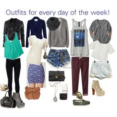 """""""Outfits for school~"""" by chic-tips on Polyvore"""