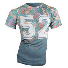Flower T-Shirt €12,99 http://mymenfashion.com/flower-t-shirt.html