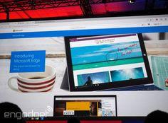 Windows 10's web browser is called Microsoft Edge