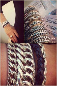 Buddha to buddha silver bracelets