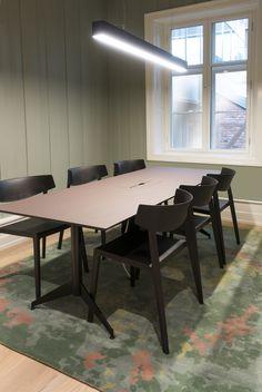 Made for the Head Quaters of the Norwegian Business Registry. Hand Tufted Rugs, Custom Rugs, Handmade Rugs, Terracotta, Granite, Bespoke, Business, Interior, Table