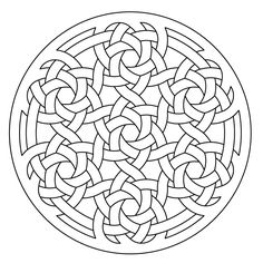 celtic knotwork lute rosette by Peter Mulkers