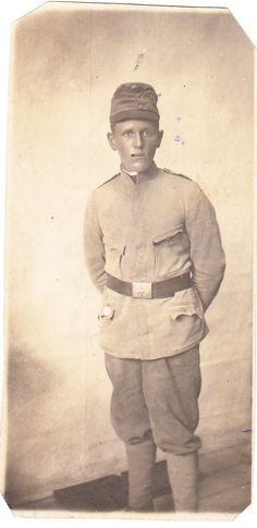 Czech soldier Jindrich (Heinrich) Bily during WWI (K. Infantry Regiment - fell on the Isonzo front My Ancestors, Albania, Wwi, Buddha, Statue, History, Fall, Autumn, History Books