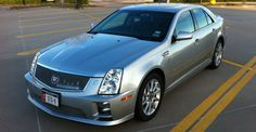 2008 Cadillac STS-V Supercharged, DOHC 4.4L V8 engine
