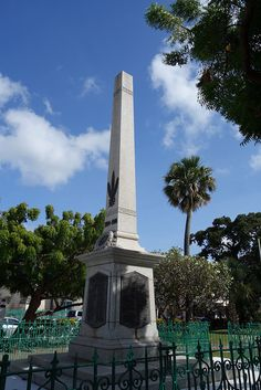 War Memorial, Bridgetown, Barbados