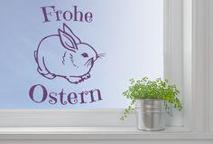 Häschen Schriftzug Ostern