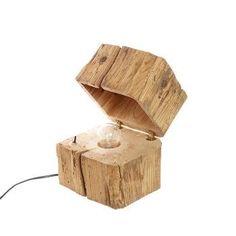 Blocklampe B1 #WoodenLamp