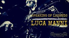 Luca Manni and his Harley Davidson Duece
