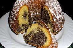 Baileys-Mohn-Gugelhupf http://mobile.chefkoch.de/.../Eierlikoer-Mohn-Kuchen.html Ich hab nur 150g Zucker genommen und das poppy seed aus der Dose. Und Baileys anstelle der Milch.