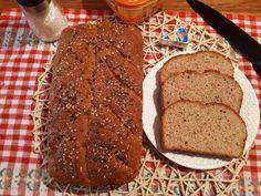 Félbarna kenyér Bread, Food, Eten, Bakeries, Meals, Breads, Diet