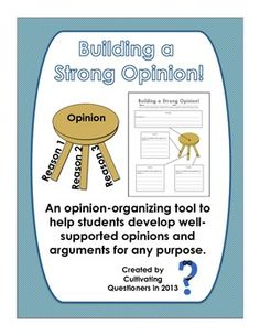 Building a Strong Opinion: A Multipurpose Opinion Planning Tool