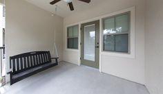 Balcony at Ashton Lane II Luxury Apartments in Gainesville, FL