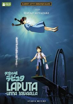 Watch Castle in the Sky Watch Castle, Studio Ghibli Movies, Beautiful Film, Castle In The Sky, Hayao Miyazaki, The Visitors, Shiro, Totoro, Movies And Tv Shows