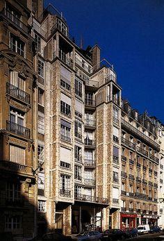 Auguste Perret - habitations rue Franklin, Paris