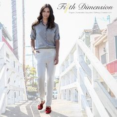 Ready for the week ahead... 😉  Pictured: Button-up Blouse  Pleated Pant Click the link in our profile to shop. 👆fifthdimensionclothing.com