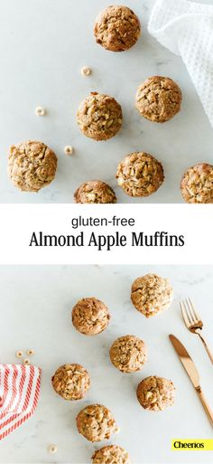 Delicious gluten-free almond apple muffins. All the goodness, sans the gluten.