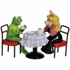 """""""Coffee Date"""" Salt and Pepper Shaker Set by Westland Giftware"""
