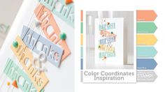 Color Coordinates Recipe from Simon Says Stamp