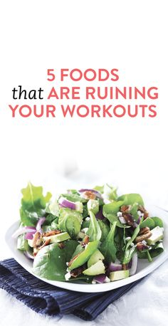 5 Healthy Foods That Might Ruin Your Workout - The Nutrition Twins 5 Healthy Foods That Might Ruin Y Nutrition Education, Nutrition Month, Nutrition Plans, Sports Nutrition, Nutrition Tips, Fitness Nutrition, Pasta Nutrition, Get Healthy, Healthy Recipes