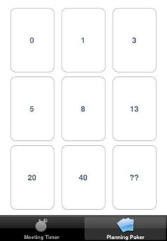 Make Your Own Planning Poker Deck | Planning poker, Poker and Template