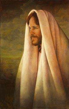 My favorite Jesus picture, The Gentle Healer by Greg Olsen