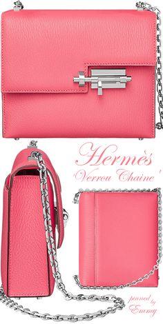 Hermès 'Verrou Chaine' clutch bag 2017