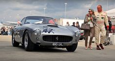 Peter Neumark & David Franklin - 1960 Ferrari 250 GT SWB Berlinetta No.5 - 2011 Silverstone Classic (Explored) | Flickr - Photo Sharing! (This is NOT car #47!)