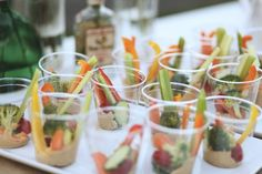 vege sticks + hummus at relaxed picnic wedding http://su.pr/1Q5mll