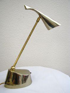 Laurel, desk lamp, 1960s.