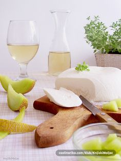 Basa- lički sir - delicious soft cheese artisanally fabricated by farmers in the region of Lika (Croatian Highlands)
