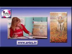 Cómo pintar tulipanes con oleo pastel (Parte 1) - YouTube
