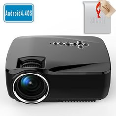 Soggiv GP70UP Full HD 1080p 150 1800Lumens LED Mini Portable Android WIFI Wireless Bluetooth Projector for  No description (Barcode EAN = 0712809342112). http://www.comparestoreprices.co.uk/december-2016-3/soggiv-gp70up-full-hd-1080p-150-1800lumens-led-mini-portable-android-wifi-wireless-bluetooth-projector-for-.asp