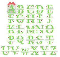 Complete Alphabet A to Z Split Letters STUDIO on Craftsuprint - Add To Basket!