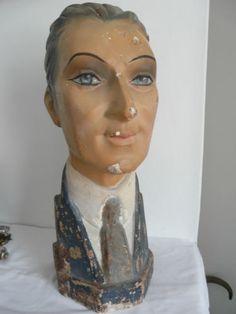 1930s mannequin head