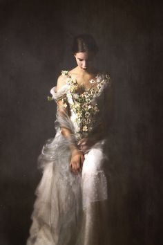 Joséphine Cardin is a former dancer who developed her art by making her own photos self-portraits. The atmosphere she creates is full of melancholy, nature, darkness and romanticism. With a great talent, she illustrates all her influences by delicate and surrealist staging.
