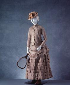 1880-1890 tennis dress.